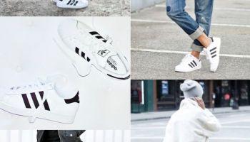 buy popular 8d991 69048 Trend    Adidas white superstar sneaker kids