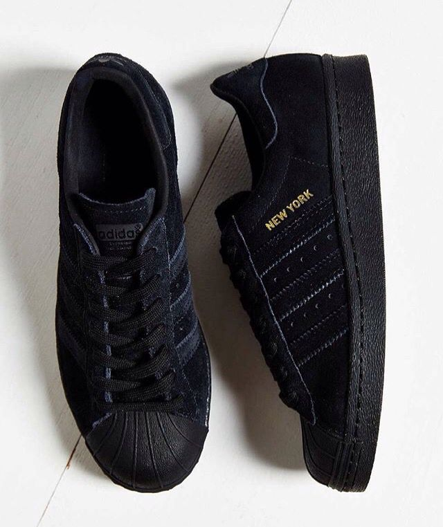 Adidas City Series New York | black velvet – Fashion To Do List