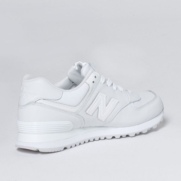 New Balance 574 – White Leather