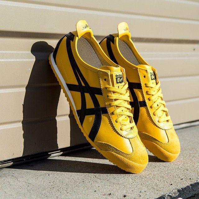 onitsuka tiger mexico 66 yellow black mens trainers list