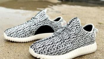 6922dd16194dc NewadidasOriginals 2016 Kanye Milan West Yeezy Boost 350 novel Gray Black 750  Men s Fashion Sneaker